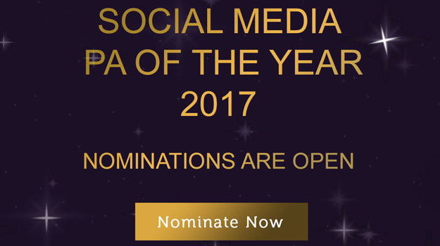 Social Media PA of the Year 2017: Sponsored by Beaufort House
