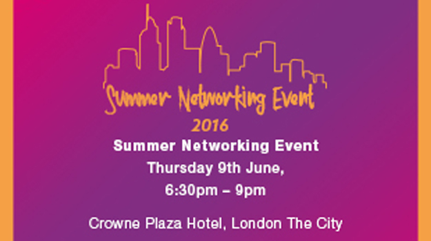 Crowne Plaza Hotel, London - The City - Summer Networking Event 2016