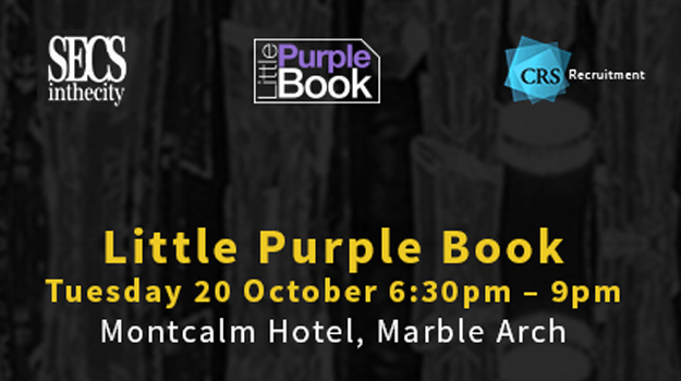 Another successful Little Purple Book evening