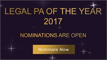 Legal PA of the Year 2017: Sponsored by Hawksmoor